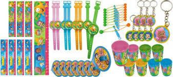 bubble guppies party favors stickers bubbles inflatables