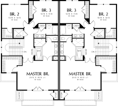 Floor Plans Com by Modern Style House Plan 3 Beds 2 5 Baths 2861 Sq Ft Plan 48 261