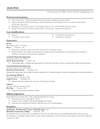Detention Officer Resume Marine Corps Resume