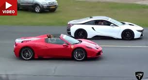 how fast is a 458 italia 458 speciale aperta takes on bmw i8 nissan gt r others