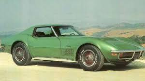 1972 corvette stingray price 1968 1972 chevrolet corvette prices and production 1968 1972