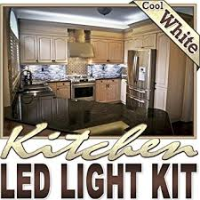 biltek 6 u0027 ft cool white kitchen counter cabinet led lighting strip