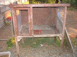 Homemade Rabbit Cage Maje Ideas Free Chicken Coop Plans Pvc