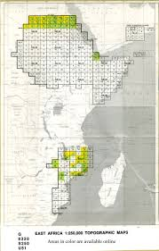 Eastern Africa Map by