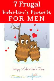 valentines for men 7 frugal valentines presents ideas for men