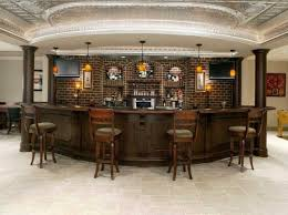 Pictures Of Finished Basements With Bars by 227 Best Home Bar Designs Images On Pinterest Basement Ideas