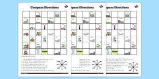 directions worksheet australia compass directions