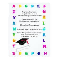 kindergarten graduation announcements kindergarten graduation invitations