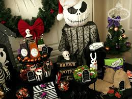 nightmare before christmas party ideas lynlees