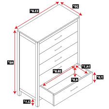 nightstand standard nightstand height with fantastic chiffonier