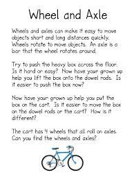 simple machines kindergarten nana