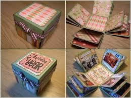 Photo Album Box How To Diy Creative Box Photo Album Exploding Boxes Creativity