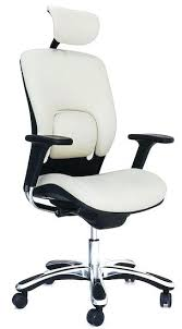 leather desk chair no arms white leather office chair www ryunyc com