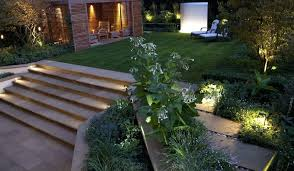 Outdoor Garden Spike Lights Led Garden Spike Lights All Lights A Lawnmower Tough Solution