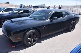 Dodge Challenger All Black - srt hellcats invade vegas for drag showdown rod network