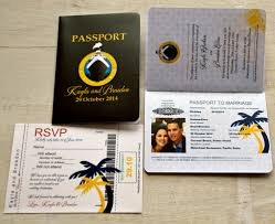 cruise wedding invitations passport wedding invitation design fee cruise ship theme