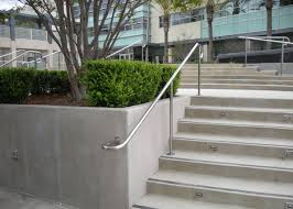 Commercial Handrail Height Code Ba Ramirez Iron Works Gallery Wrought Iron Stair Hand U0026 Guard