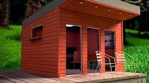 Office Garden Shed Backyard Office Blender Model Youtube