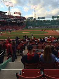 Fenway Map Fenway Park Section Loge Box 115 Home Of Boston Red Sox