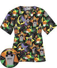 it u0027s the great pumpkin charlie brown peanuts halloween scrub top