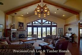 timber frame great room lighting timber frame home great room view room