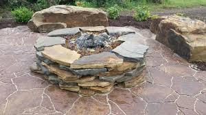 Flagstone Firepit Awesome Pit Flagstone Flagstone Pit Pit Grill Ideas