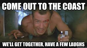 Die Hard Meme - popcultural the twelve posts of christmas christmas but not as you