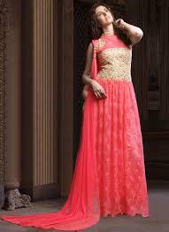 anarkali wedding dress buy pink anarkali gown wedding dresses and gown