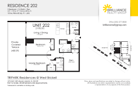Parkland Residences Floor Plan by Tripark Residences Brilliance Realty Group