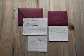 maroon and gold wedding real wedding juliana and nicholas gold wedding invitations