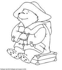 paddington bear coloring pages paddington