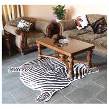 Cowhide Prices Compare Prices On Zebra Print Rug Online Shopping Buy Low Price