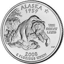 State Series Quarters Collector Map by Alaska State Quarter U S Mint