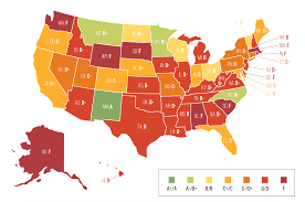 Usa Map By State by This Map Details Whether Asset Forfeiture Laws In Your State Are