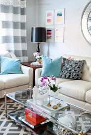 Living Room Table Decoration How To Decorate A Side Table Autour