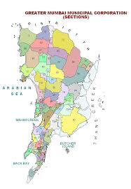 Mumbai India Map by Census Of India Mumbai Municipal Corporation