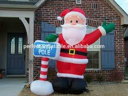 Christmas Outdoor Decorations Inflatables by Funny And Lovely Christmas Outdoor Decoration Inflatable Santa