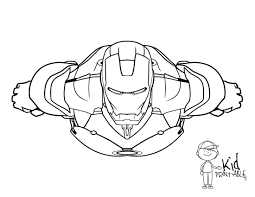 free printable iron man coloring pages kid printable printable of