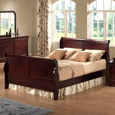 Wooden King Size Bed Frame Bedroom Great King Size Sleigh Bed For Main Bedroom Decor