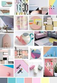 home decor trends for summer 2015 sian tomlinson ss14 pastel colour blocking moodboard 2016 trends