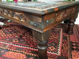 Wohnzimmertisch Orient Antik Look Tisch Nuristan 120x80 Cm Orientart