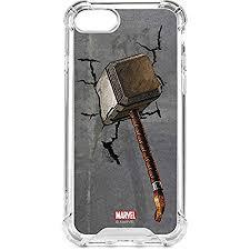 amazon com marvel avengers iphone 7 lenu case mjolnir hammer of