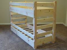 buy order u0026 customize a crib size toddler bunk bed by lil