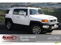 2014 Toyota Fj Cruiser Interior 2012 Iceberg White Toyota Fj Cruiser 4wd 62530034 Photo 2