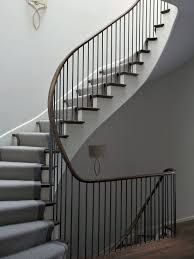 Iron Banisters And Railings Best 25 Staircase Handrail Ideas On Pinterest Stair Lighting