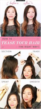 how to get a lifted crown hairdo 17 thin hair tips tricks and hacks to get more volume gurl com