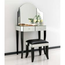 Glass Mirrored Bedroom Furniture Bedroom Furniture White Glass Dressing Table Design Of Dressing