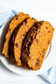 Paleo Bread Recipe Bread Machine Chocolate Chip Pumpkin Bread Amy U0027s Healthy Baking