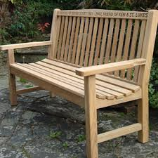 5ft Garden Bench Memorial Benches Teak Classic Bench 1500
