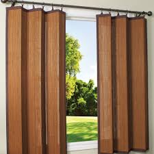 Outdoor Canvas Curtains Outdoor Bamboo Curtain Panels Bamboo Curtain Panels Combinations
